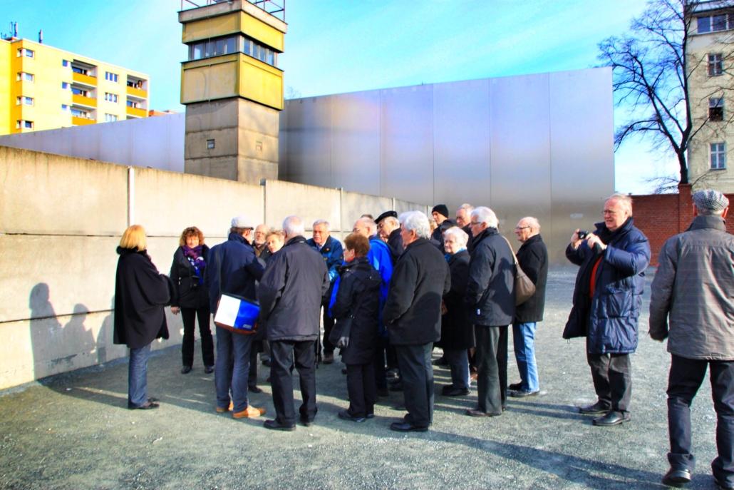 Gruppenreise zur Berliner Mauer