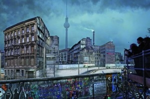 DIE MAUER - asisi Panorama Berlin am Checkpoint Charlie