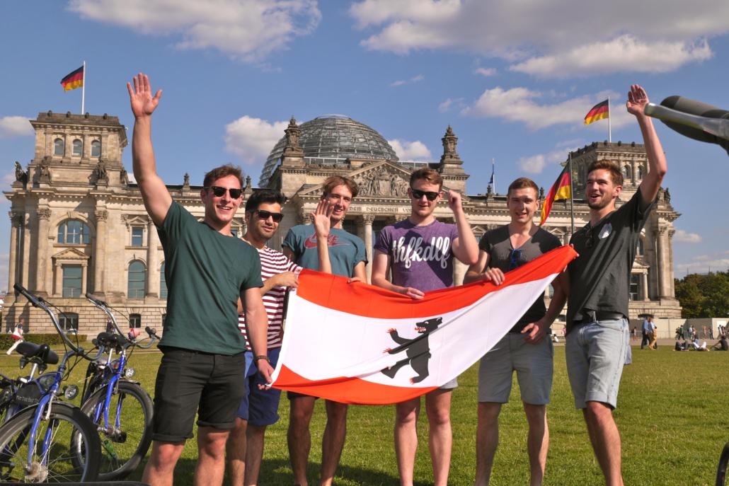 Klassenfahrt nach Berlin mit einem Zuschuss zu den Fahrkosten