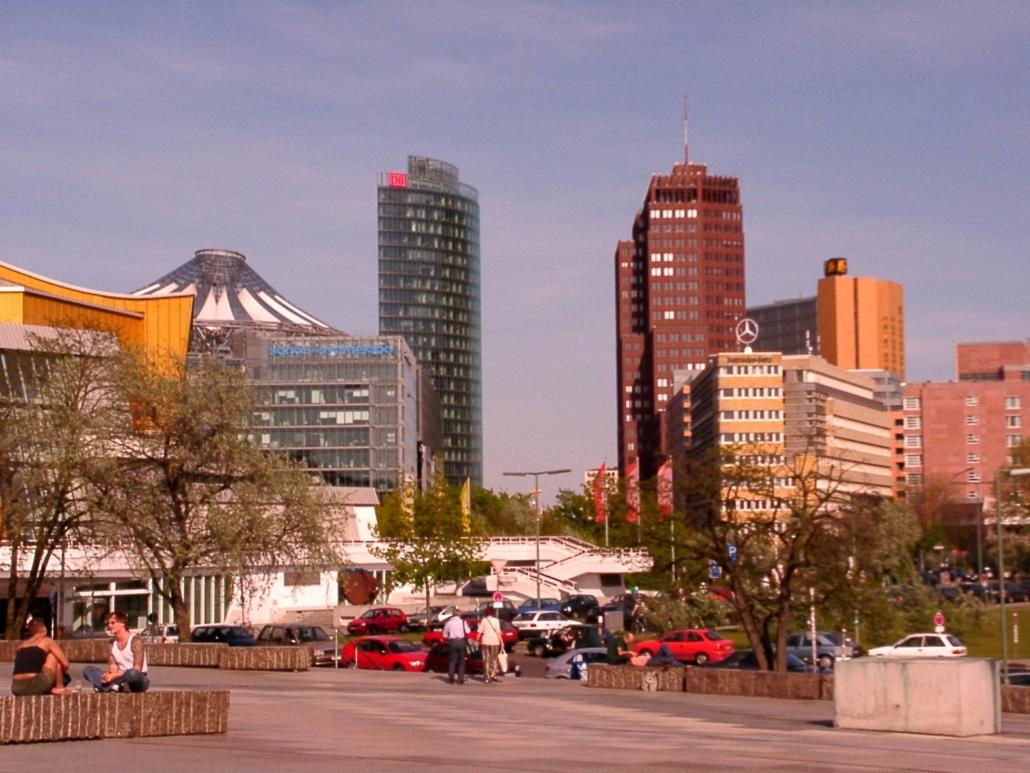 Panoramapunkt am Potsdamer Platz