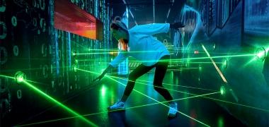 Spionagemuseum in Berlin - Laserparcours