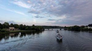 Havel Schiff Nächtliche Schlösserimpression Weiße Flotte Potsdam