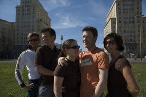 Gruppe in Berlin